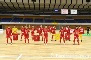 【バルギャラリー】 日本女子フットサルリーグ2020-2021シーズン 09.26 府中アスレティックFCレディース戦