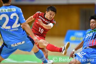 【バルギャラリー】 Fリーグ2020-2021シーズン 09.27エスポラーダ北海道戦